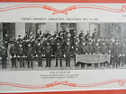 RARE ORIG 1897-1917 FLUSHING Queens FDNY Fire Deptarment 11x26 framed Photoprint