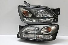 JDM Subaru Liberty  B4 BE5 Legacy BH5 BH9 BLACK OEM HID KOUKI Headlights Lamp