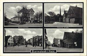 Barmstedt in Holstein, Waldschlößchen, Chemnitz Straße, Ansichtskarte von 1938