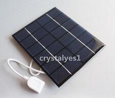 2W 6V USB Mini Solar Panel Module Solar System Solar Epoxy Charger DIY B032