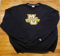 Vintage Champion Marquette Crewneck XL Rare College Collection 1990s Clothing