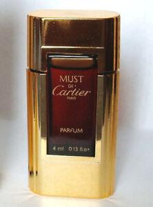 CARTIER Must De Cartier Pure Parfum 4 ML/0.17 OZ New Without Box