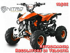 MINIQUAD PANTHERA 125cc AVVIAM.ELETTR. - Mini Moto Quad minimoto per bambini