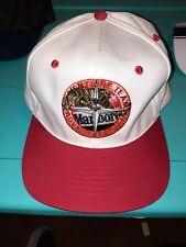 Vtg 90s Marlboro Adventure Team Cigarettes Tobacco Hat Lizard