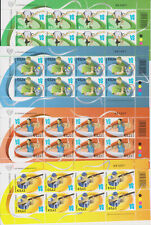 CYPRUS MNH STAMP SET 2012 LONDON 2012 SUMMER OLYMPICS FULL SHEETS
