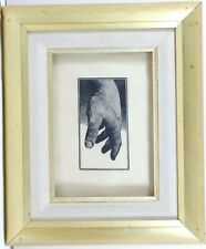 Study of a HAND - SIGNED Wood Engraving - Barry Moser (Pennyroyal Press) Framed