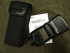 Canon Speedlite Flash DSLR 580EX II Shoe Mount Excellent Condition