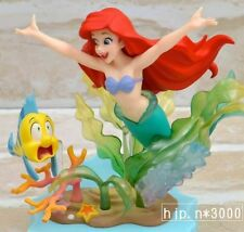 Disney Ariel Little Mermaid Flounder Disney Princess Figure Doll Toy Japan RARE!