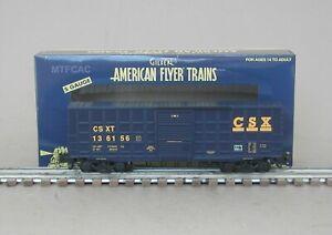 Lionel American Flyer 6-47967 CSX Waffle Side Box Car 136156
