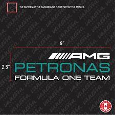 2x MERCEDES AMG PETRONAS FORMULA ONE TEAM sticker decal vinyl