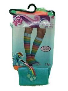 3 Packs My Little Pony Rainbow Dash Knee Socks One Size Fits Most 6+