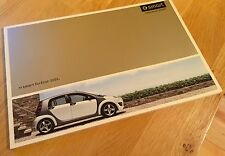 Brochure / Catalogue SMART Forfour 2005