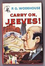 1948 paperback CARRY ON, JEEVES! by P.G. Wodehouse - Pocket Books 495