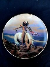"""Franklin Mint """" Spirit Of The Skies """" Plate"""