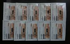 CLINIQUE Beyond Perfecting Foundation + Concealer 6 ivory x 10 Sachets  samples