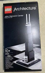 LEGO John Hancock Center - (21001) *New In Box* Retired Iconic Architecture