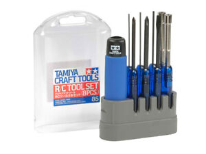 From Japan Tamiya Builders 8 Screwdriver Tool Set with stand, 74085 RC Cars