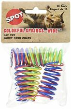 10 Pcs Wide Colorful Springs Cat Fun Play Toy Treats Kitti Kitten Catnip Toys