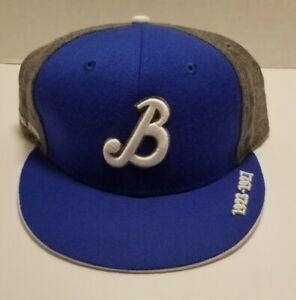 Brooklyn Royal Giants Headgear Negro League Baseball  Fitted Hat Cap blue