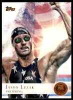 2012 TOPPS OLYMPICS COPPER JASON LEZAK SWIMMING #31 PARALLEL