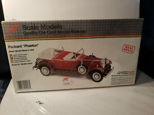 JLM Hubley PACKARD PHAETON Metal Kit Scale Model never opened