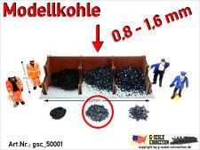 Spur 0 - Modellkohle Kohle Ladegut 0,8-1,6mm gsc_50001 Zip-Beutel ca. 220-240gr.
