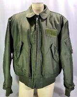 Vintage USAF US Air Force Flyers CWU 45/P Jacket XL Isratex Military 1992