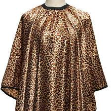 BARBERSHOP LEOPARD CAPE GOWN APRON PREMIUM QUALITY  Cutting/Colouring/Dressing 