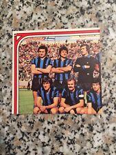 SQUADRA INTER N. 151 152 SUPER CALCIATORI PANINI 1974 75 NUOVA FIGURINA DOPPIA