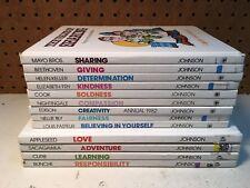 ValueTales Lot 13 HC Books By Spencer Johnson, Ann Donegan Johnson.