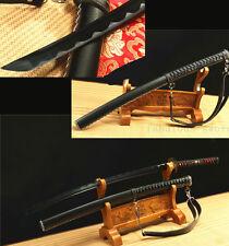 "41"" Carbon Steel Black Japanese Samurai Sword Katana Artifical Lerrth"