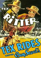 Tex Rides with the Boy Scouts NEW DVD