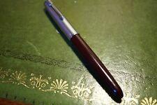 Parker 51 * Burgundy * Superb Broad Oblique Nib