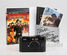 PERSONALLY SIGNED LEICA M9 * SYLVESTER STALLONE * EDITION USED IN EXPENDABLES 2