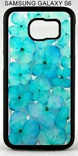 New Blue Hydrangea Flowers Phone Case Cover For Samsung Galaxy S3 s7 s8 +