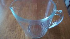 Vintage Pyrex 2 Cup 16 Oz 1 Pint Glass Measuring Cup Red Letters D Handle 516