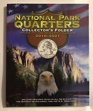 """National Parks """"Deluxe"""" Quarter Folder Album 2010-2021 Philadelphia & Denver"""