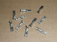 Scalextric 10 female spade terminal connectors superb car spares.