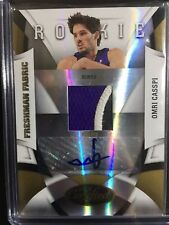 OMRI CASSPI 2009-10 CERTIFIED RC ROOKIE GAME JERSEY AUTO GOLD #6/25! SP!