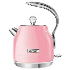 SENCOR Pastels Collection SWK44RD Pink 4 x 1.2-Liter Electric Kettle NEW