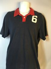 Abercrombie & Fitch Polo Shirt Blue Mens Size XL