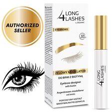 Long 4 Lashes Eyebrow Designer with Biotin 8ml 12h Effect Long4Lashes AUTHORIZED