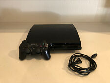 Sony PlayStation 3 Slim  Charcoal Black Home Console - PS3