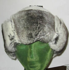 NEW GENUINE EMPRESS CHINCHILLA FUR HAT