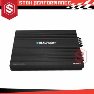 Blaupunkt EMA 465 600Watts 4/2/1 Channel Class AB Power Car Amplifier