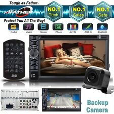 "For VW B5 MK4 MK5 Golf Passat Jetta 2Din 6.2"" Stereo Car DVD Player+Rear CAMERA"