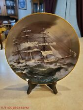 """""""Nightingale"""" The Great Clipper Ships Plate Limited Edition 1981 Fine Porcelain"""