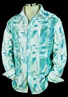 """Robert Graham """"SM Pier View"""" NWT $398 Embroidered Limited Edition Shirt 3XL"""