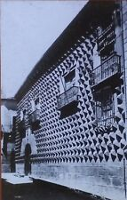 La Casa de Los Picos, Segovio, Spain, Magic Lantern Glass Photo Slide, Exterior