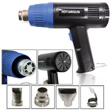 1500 Watt Dual Temperature Heat Gun w/ Accessories Shrink Wrapping 660F-1020F